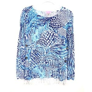Lilly Pulitzer | Ramona Pull Over Printed Sweater